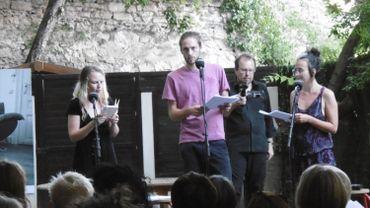 Emilienne Tempels, Pierre Gervais et Marie-Aurore D'Awans nous transportent dans ce voyage sonore