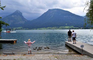 Lac de St Wolfgang, le 24 juillet 2020
