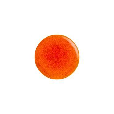 Tourron Orange Dinner Plate