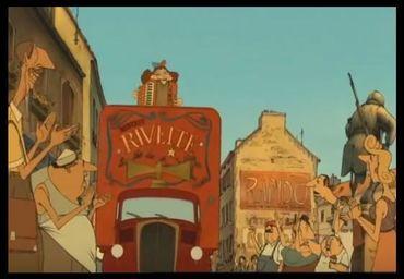 """Capture d'Ecran """"les Triplettes de Belleville"""", Youtube"""