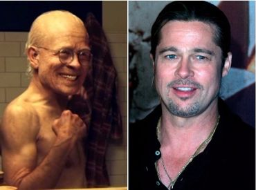 """Né vieux, Brad Pitt rajeunit tout au long de """"L'étrange histoire de Benjamin Button"""""""