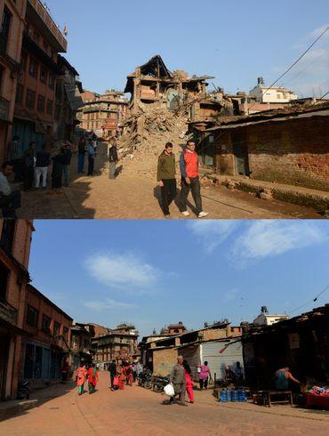 Le Népal, un an après à Bhaktapur.