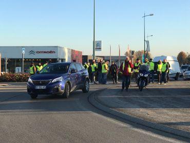 Des altercations ont eu lieu entre automobilistes et gilets jaunes