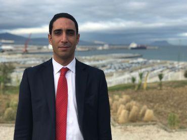 Rachid Houari, Directeur général du port de Tanger Med 1