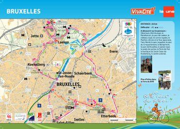 Le Beau Vélo de RAVel sera à Bruxelles ce dimanche pour la journée sans voitures !