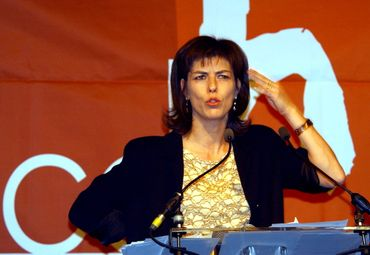 Joëlle Milquet en 2003