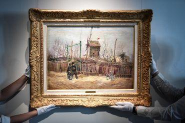 « Scène de rue à Montmartre » a été adjugé un peu plus de 13 millions d'euros, frais compris, lors d'une vente organisée par Sotheby's