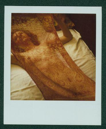 "Polaroïd ""Anna"" de Stanley Greene."