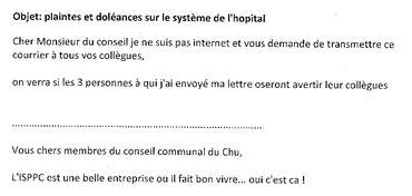 Accusations de corruption à Charleroi: voici le mail reçu par les administrateurs de l'ISPPC