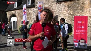 Eric Boever, capitaine de l'équipe des marcheurs parcourant les 100 km.
