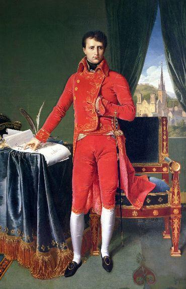 """Napoléon Bonaparte, premier consul"" par Ingres"