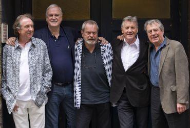 Idle, Cleese, Gilliam, Palin et Jones le 30 juin 2014