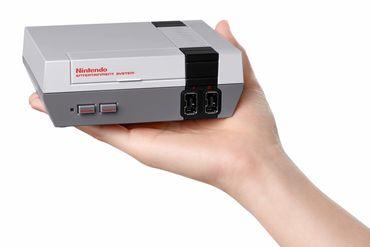 La NES mini de Nintendo, sortie en 2016
