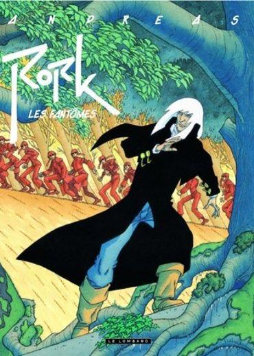 « Rork –Les fantômes» d'Andreas – Ed Lombard