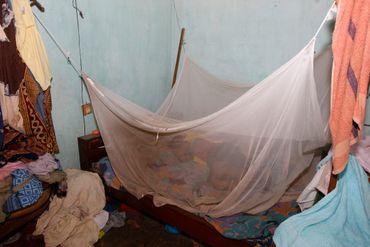 Moustiquaire dans le cadre de la prévention de la malaria