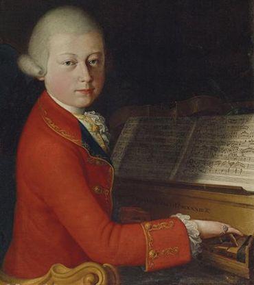 Un rare portrait du jeune Mozart sera bientôt aux enchères chez Christie's