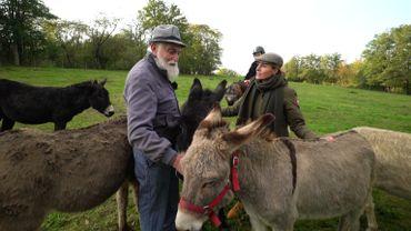 Sur les hauteurs de Herstal, au Fort de Pontisse, l'Anim'Anerie lutte pour la protection, le bien-être et la sauvegarde de l'âne