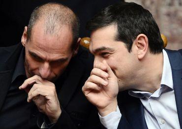 Le visage de Yanis Varoufakis, l'homme chargé de renégocier la dette grecque