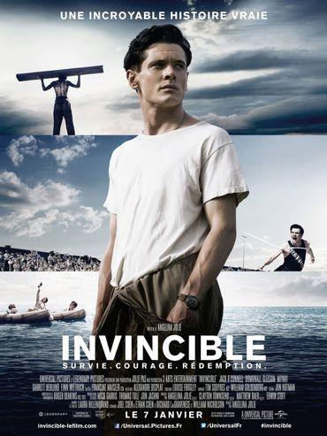 L'affiche d'Unbroken - Invincible
