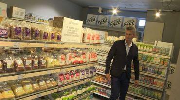Dans le supermarché Ekoplaza