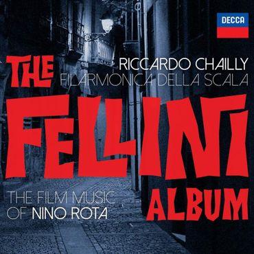 """Filarmonica della Scala, Riccardo Chailly -"""" Fellini album """", Decca 681."""