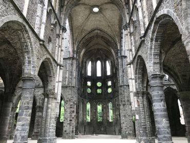 Villers-la-Ville: les ruines de l'Abbaye en réalité augmentée