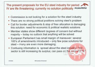 ArcelorMittal prépare la contre attaque. Documents exclusifs
