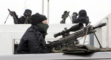 Les forces spéciales allemandes.