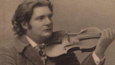 Le compositeur et violoniste Eugène Ysaÿe
