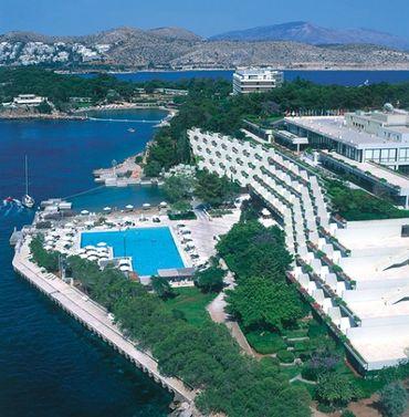 Le complexe hôtelier sur la péninsule d'Astir Vouliagmenis