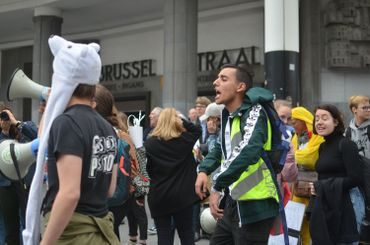 Mehdi (Youth for Climate Justice):