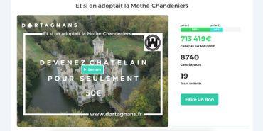 Internet sauve un château français du XIIIe siècle