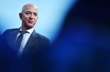 Jeff Bezos, le patron d'Amazon, le 22 octobre 2019 à Washington