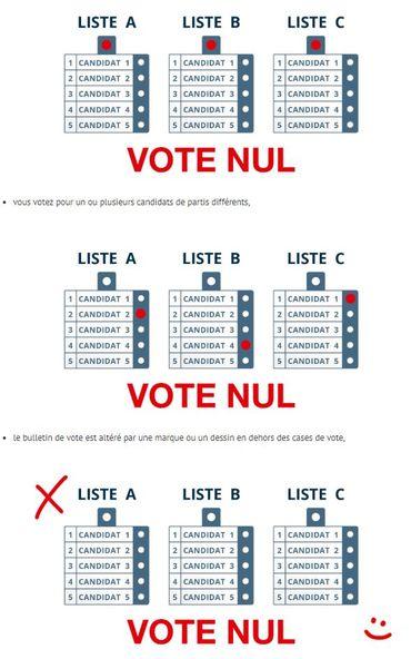 """Comment """"bien"""" voter ce dimanche ? Les règles à respecter pour un vote valide"""