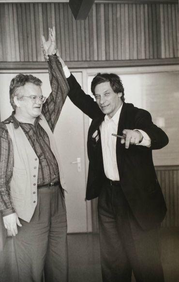 Jean-Pierre Van Tieghem et Jan Hoet