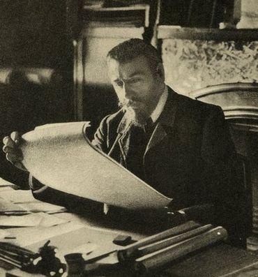 Victor Horta aux environs de 1900