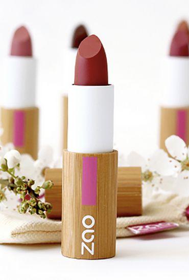 Rouges à lèvres et gloss bio et naturels: on a fait le test pour vous