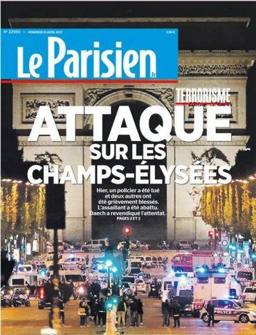 """J-2 avant la présidentielle française: """"La barbarie frappe de nouveau"""""""