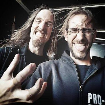Dirk Verbeuren (Megadeth) et Jonas Sanders (Pro-Pain), deux batteurs belges sur la mainstage du Graspop 2018