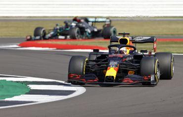 La Red Bull de Max Verstappen