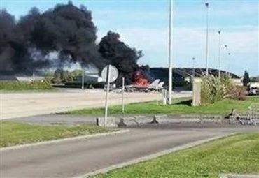 """F-16 détruit à Florennes: """"Un accident comme ca, c'est presque impossible"""""""