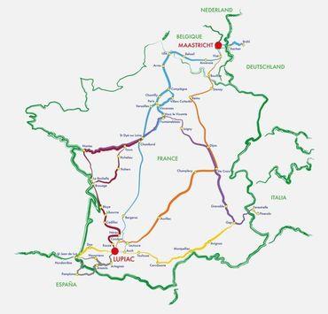Avec 4 000 kilomètres de chemins balisés en Europe, la Route européenne d'Artagnan vous propose de découvrir autrement la France, la Belgique et les Pays-Bas mais également l'Espagne, l'Italie et l'Allemagne, dans les pas de d'Artagnan