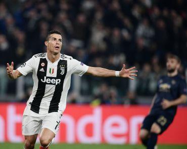 La joie de Cristiano Ronaldo après son but