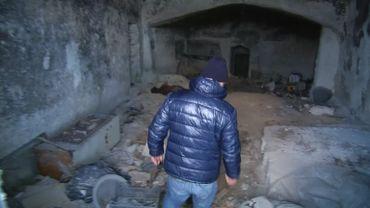 Clemente Rondinoni, habitant de Matera, de retour dans les grottes de son enfance