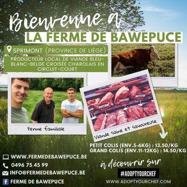 À Sprimont, la ferme Bawepuce est un domaine familial depuis cinq générations.