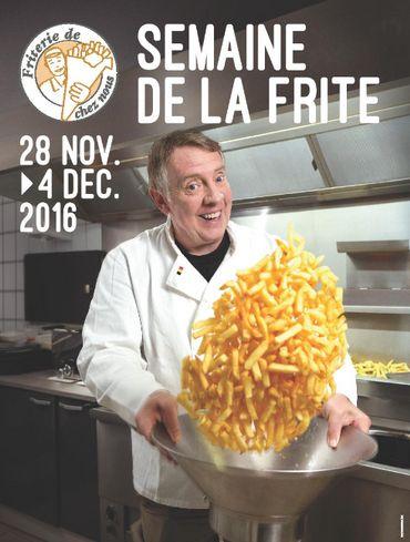 Jean-Luc Fonck lance la Semaine de la frite