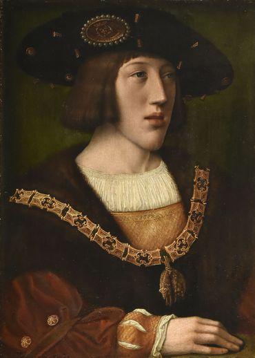 Charles de Brabant adolescent, par Bernard van Orley, au Louvre
