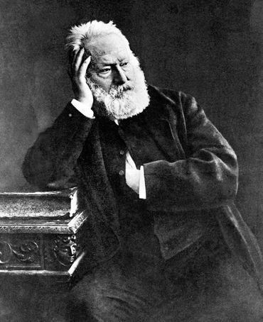 Victor Hugo, en 1880, par le grand photographe Nadar
