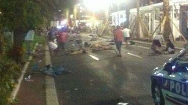 Un camion a foncé dans la foule à Nice