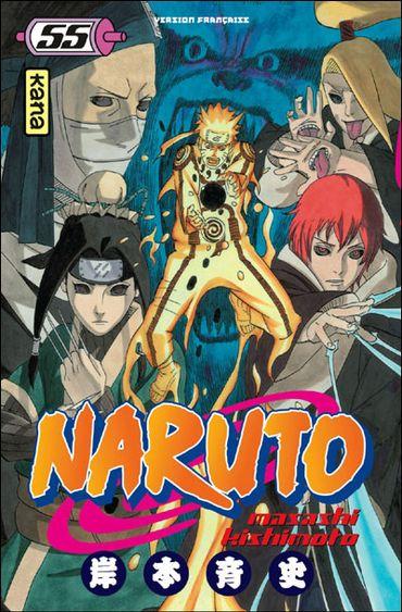 "Le tome 55 de ""Naruto"" de Masashi Kishimoto"